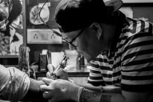 tattoo artist cosmetic